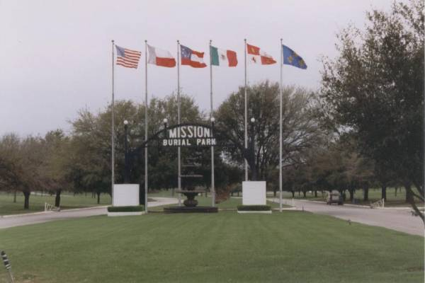 Mission Burial Park Entrance